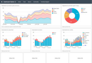 Responsive Dashboard Templates for Bootstrap