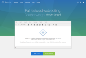 TinyMCE v4.3 – Open Source Full Featured Web Editing