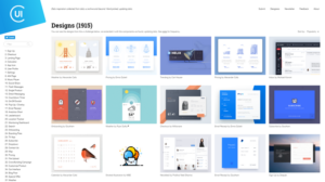Collect UI – Based on Dribbble shots, Hand Picked